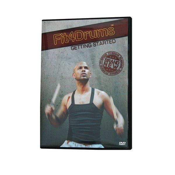 "Fit4Drums DVD ""Getting Started"""
